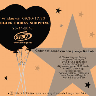 Black Friday shopping bij Sisterz